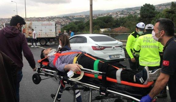 Anadolu Otoyolu'nun İstanbul yönü, Kocaeli kesimindeki zincirleme kaza nedeniyle ulaşıma kapandı