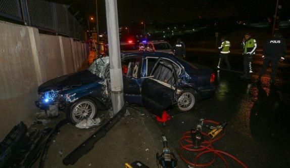 Bağcılar'da meydana gelen trafik kazasında 3 kişi yaralandı