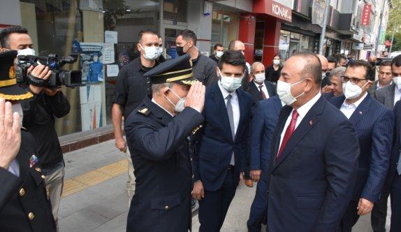 Bakanlar Mevlüt Çavuşoğlu ve Fatih Dönmez, Bilecik'te STK temsilcileriyle bir araya geldi