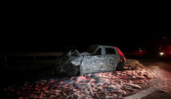 Balıkesir'de üç aracın karıştığı trafik kazasında 2 kişi hayatını kaybetti