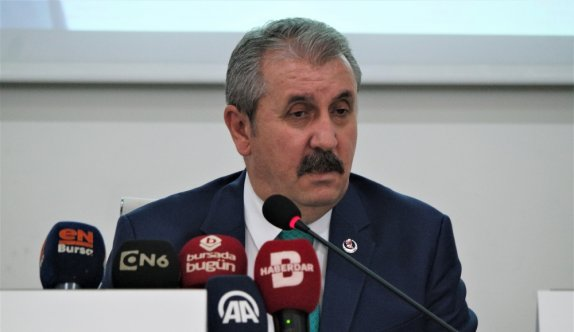 BBP Genel Başkanı Destici, Bursa'da açıklamalarda bulundu:
