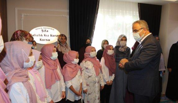 Diyanet İşleri Başkan Yardımcısı İşliyen, Bilecik'te yatılı kız hafızlık Kur'an kursunun açılışına katıldı