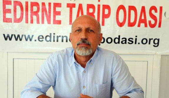 Edirne Tabip Odası Başkanı Prof. Dr. Altun'dan ailelere