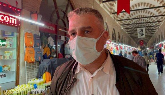 Edirne'de tarihi çarşıda gaz sıkışması endişesi ölçümler sonucu boşa çıktı