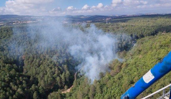 GÜNCELLEME - Balıkesir'de çıkan orman yangını kontrol altına alındı