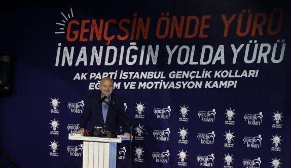 İçişleri Bakanı Süleyman Soylu, bu akşam itibariyle yurt içindeki terörist sayısının ilk kez 200'ün altına, 197'ye gerilediğini bildirdi.