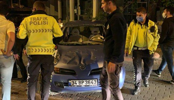 İstanbul'daki trafik kazasında iki kişi yaralandı