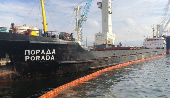 İzmit Körfezi'ni kirleten gemiye 1,2 milyon ceza uygulandı