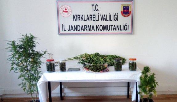 Kırklareli'nde uyuşturucu operasyonunda 5 kişi yakalandı