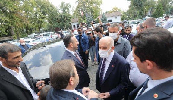 Saadet Partisi Genel Başkanı Karamollaoğlu partisinin Edirne il kongresinde konuştu:
