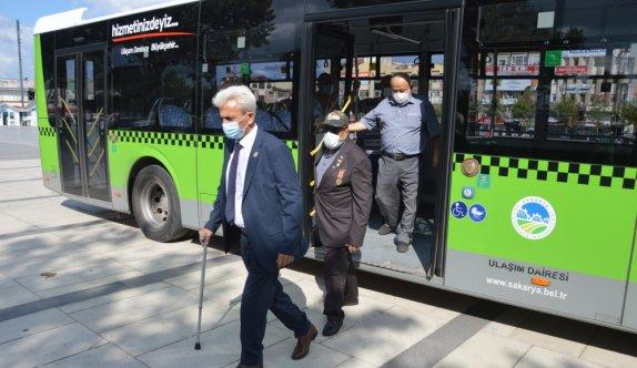 Sakarya'da belediye otobüslerinde