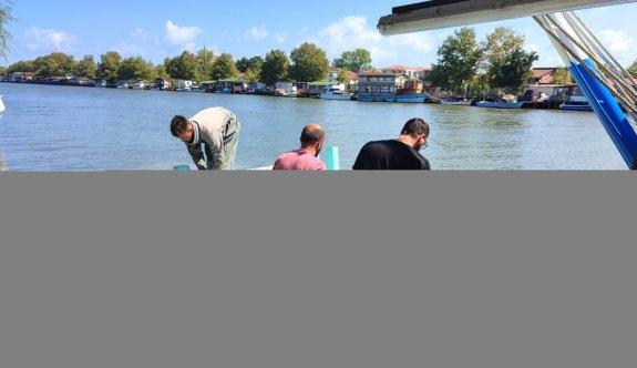 Sakaryalı balıkçılar avın ilk gününde karaya barbunla döndü