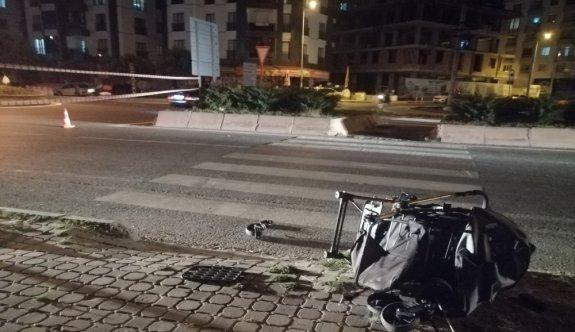 Tekirdağ'da motosikletin çarptığı 1'i çocuk 3 kişi yaralandı