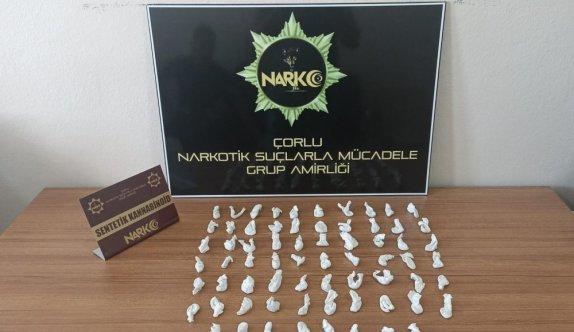 Tekirdağ'da uyuşturucu operasyonunda 4 kişi gözaltına alındı