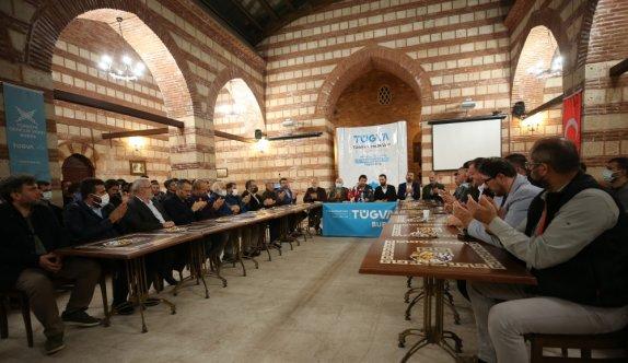 Bursa'da sivil toplum kuruluşlarından TÜGVA'ya destek açıklaması