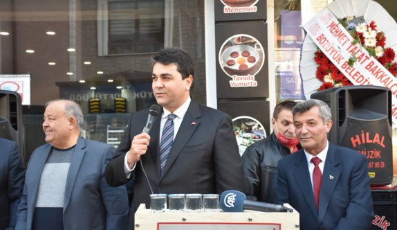 DP Genel Başkanı Uysal, Bilecik'te ilçe başkanlığı açılışına katıldı: