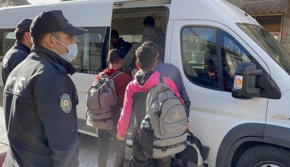 Kırklareli'nde 7 düzensiz göçmen yakalandı