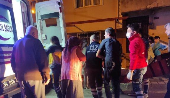 Ümraniye'de iş yeri yangını