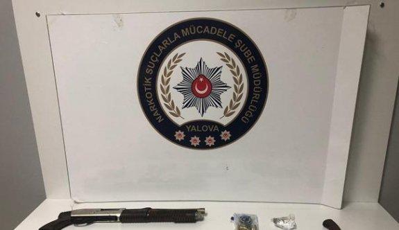 Yalova'da düzenlenen uyuşturucu operasyonunda 6 kişi yakalandı