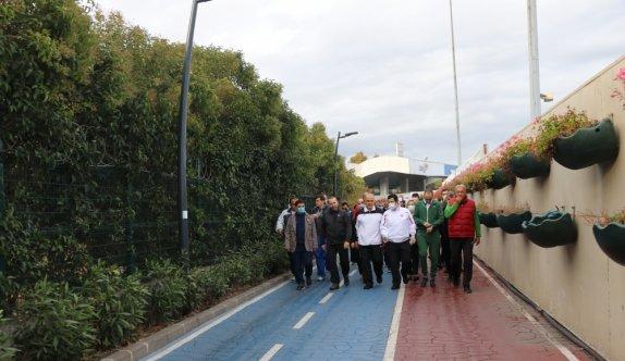 Yalovalılar sağlıklı yaşam için ayda bir gün Yürüyen Köşk'e yürüyecek