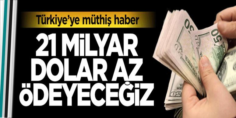 Türkiye'ye müthiş haber