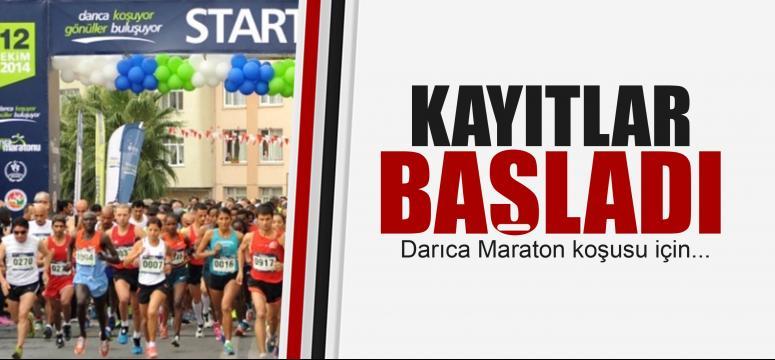 Maraton kayıtları başladı