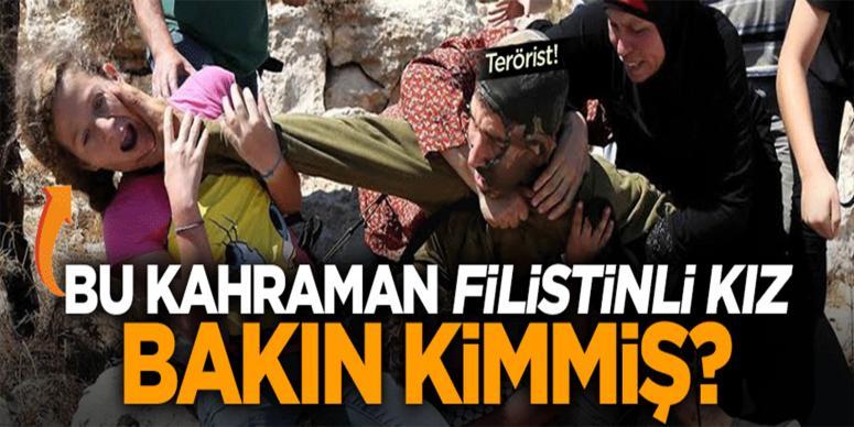 İsrail askerine kafa tutan cesur kız abisini de kurtardı