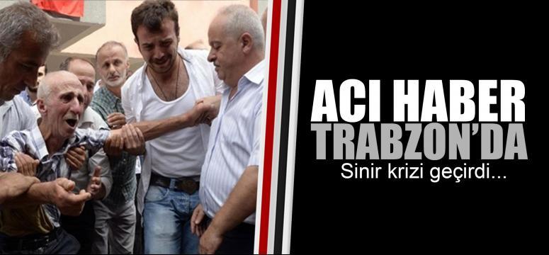 Trabzon'daki şehit evi taziyeye gelenlerin akınına uğradı