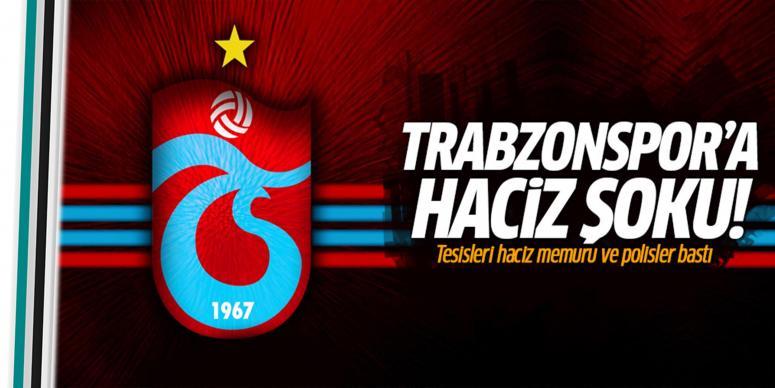 Trabzonspor'a haciz şoku!