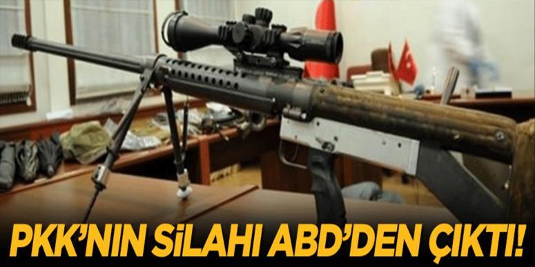 PKK'nın silahı ABD'den çıktı