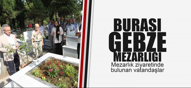 Başkan Köşker'den mezarlık ziyareti