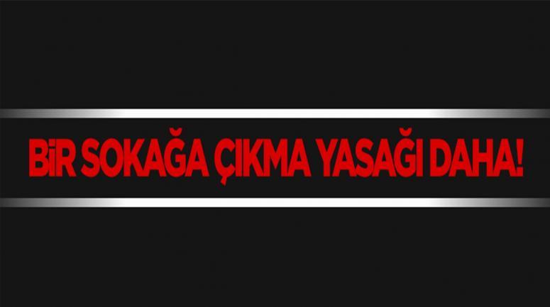 Diyarbakır Silvan'da sokağa çıkma yasağı!
