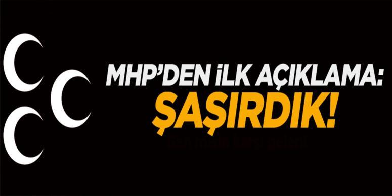 MHP'den Akşener ve Türkeş açıklaması