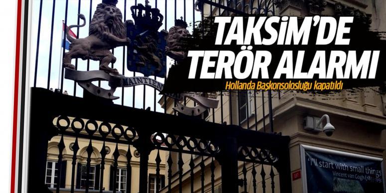 Taksim'de terör alarmı!