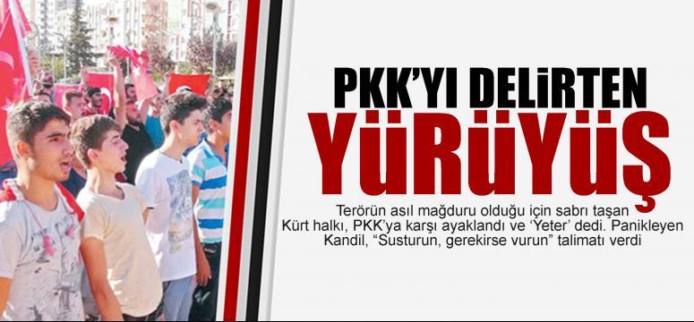 Halk ayaklandı PKK çıldırdı