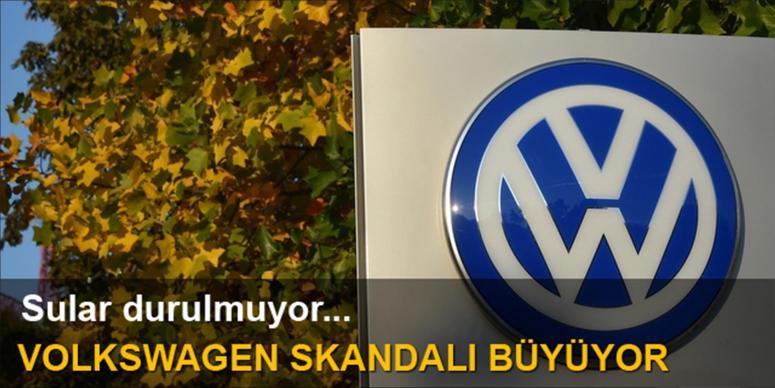 Volkwagen skandalı büyüyor