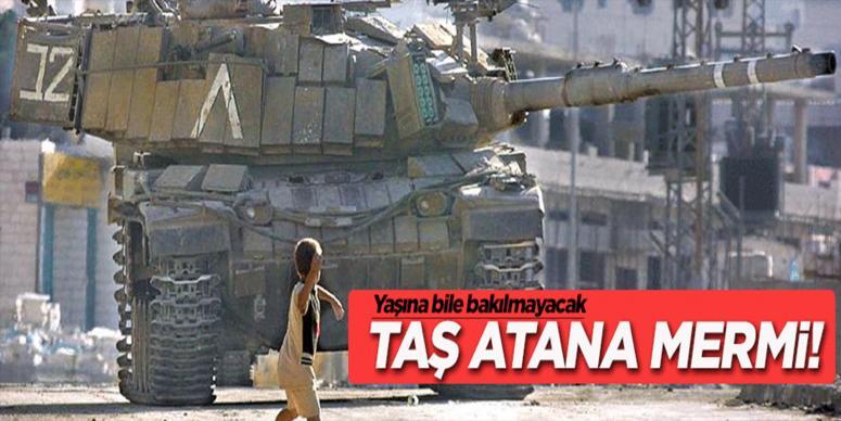 İsrail taş atana mermi atacak