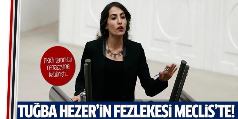 HDP'li Hezer'in fezlekesi Meclis'te