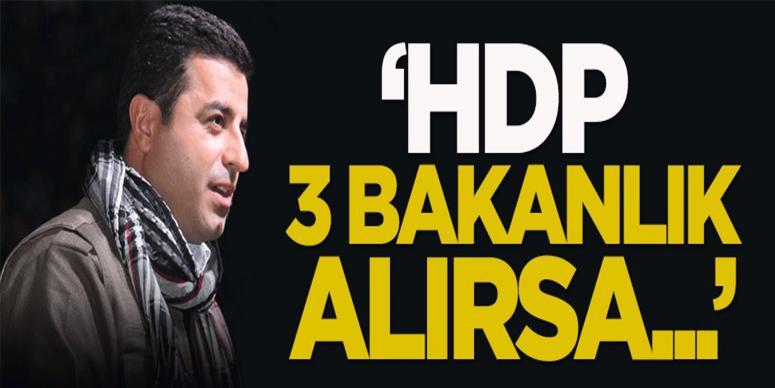 Işık: HDP 3 bakanlık alırsa...