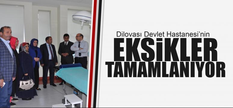 Dilovası Devlet Hastanesi'nin eksikleri tamamlanıyor
