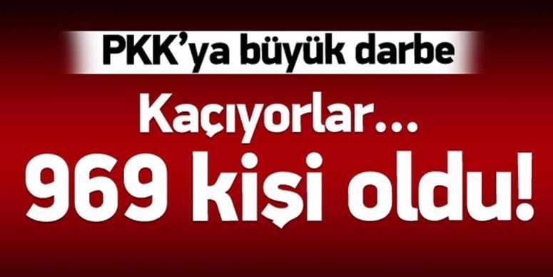 PKK'dan kaçan 10 terörist teslim oldu
