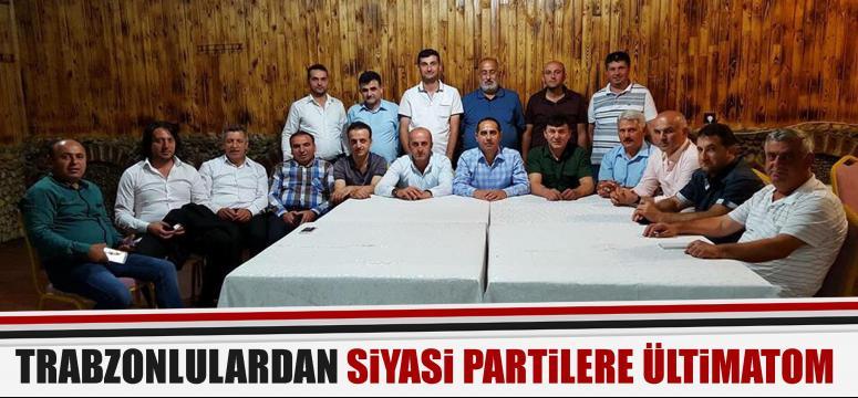 Kocaeli'de ki Trabzonlular ültimatom verdi!