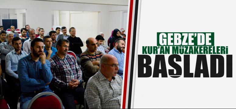 Kur'an Müzakereleri başladı