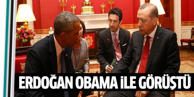 Obama ile görüştü