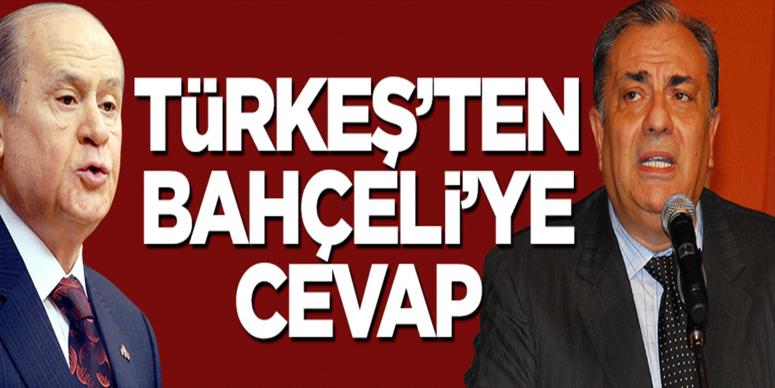 Tuğrul Türkeş'ten Bahçeli'ye cevap