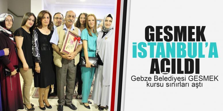 GESMEK İstanbul'da sergi açtı