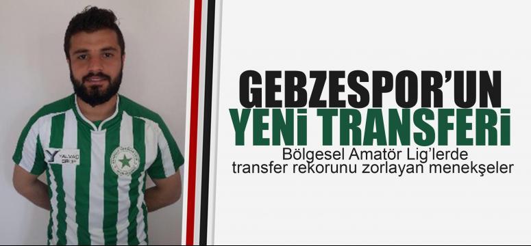 Gebzespor'a yeni transfer