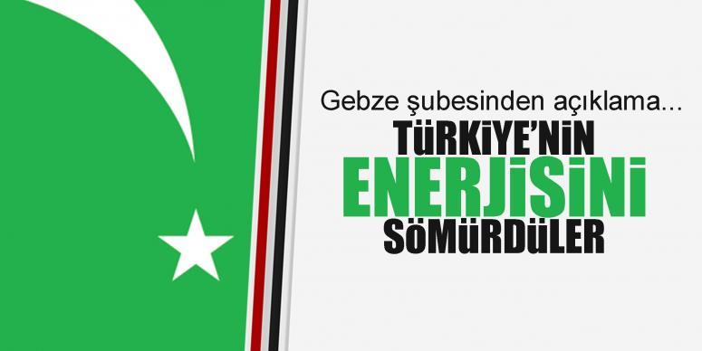 Türkiye'nin 35 yıl enerjisini sömürdüler