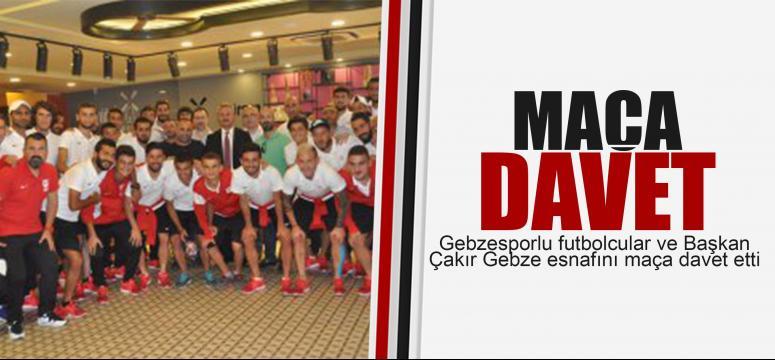Gebzespor'un maçına davet