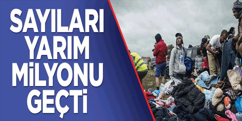 İşte Avrupa'ya ulaşan sığınmacı sayısı!